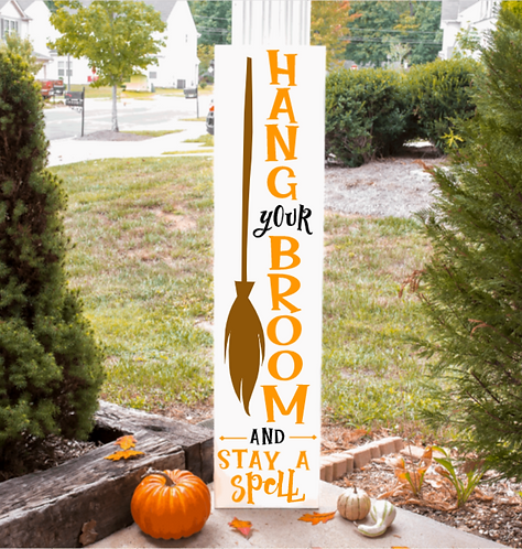 Ready Made: Broom Parking Porch Board (Starting at $40.00