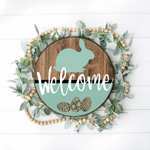DIY: Bunny Welcome Door round (starting at $25)
