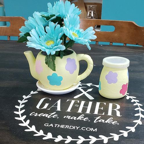 Planter & Vase / Wish Jar Set