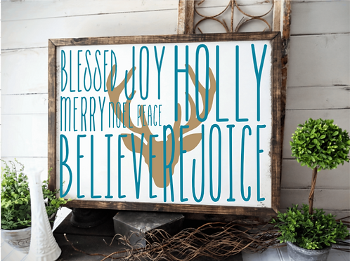 DIY: Christmas Phrases