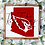 Thumbnail: CUSTOM State/Sports Mascot w/Surname Wood Sign (Starting at $30.00)