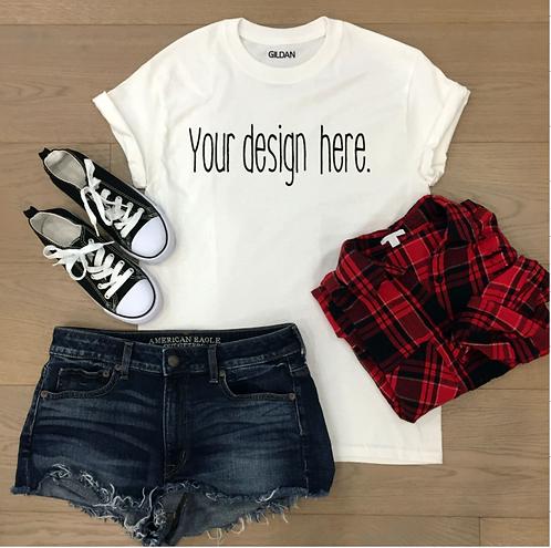 Custom Order: T-Shirt Designs (Starting at $10.00)