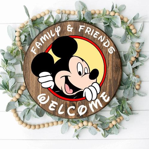 DIY: Mickey door round (Starting at $ 35.00)