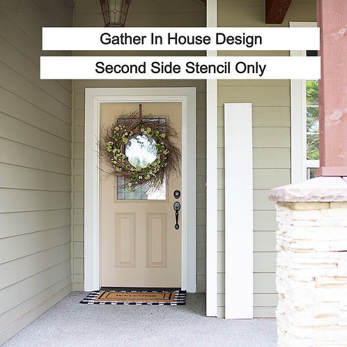 copy of SECOND SIDE STENCIL ONLY-  (Starting at $25.00)
