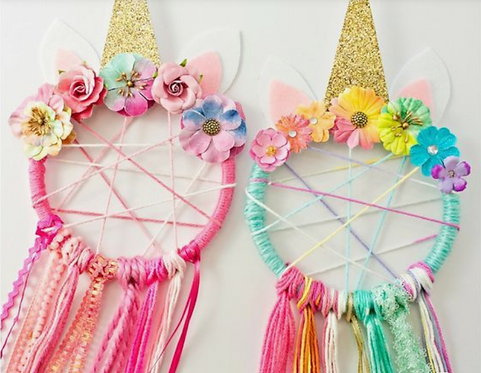 DIY: Unicorn Dream Catcher