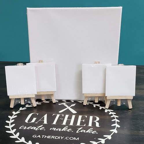Grab & Go Studio - Canvas Family Pack  (Starting at $25.00)