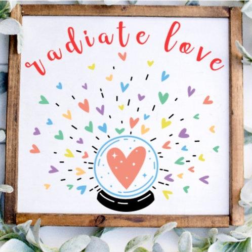 DIY: Radiate Love (staring at $25.00)