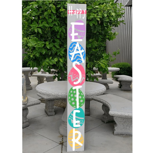 DIY: Happy Easter Porch Board (starting at 30.00)