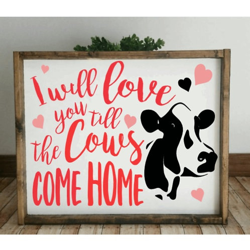 DIY: Cows come home