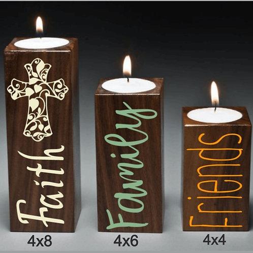 DIY: 3pc candle pedestal set (starting at $25.00)
