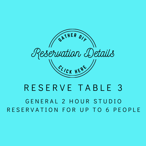 Table 3: Reservation