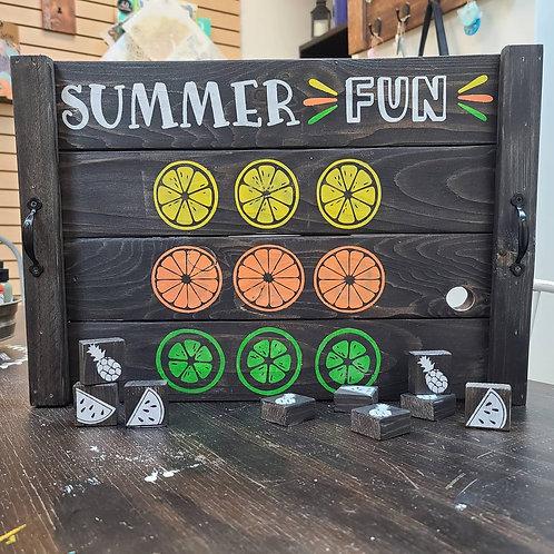 Summer Fun Game Tray