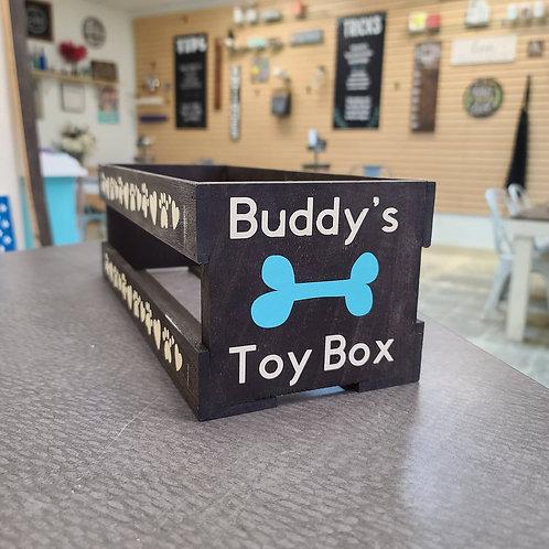 Pet Toy Box (starting at $35.00)