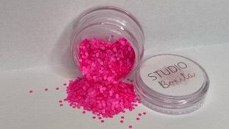 Neon pink dots