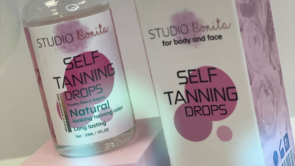 Self tanning drops