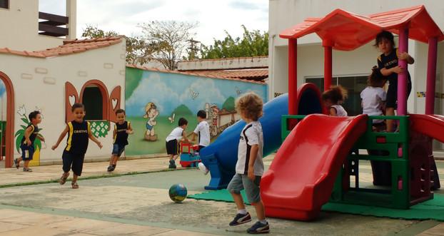 Área de recreação do Infantil