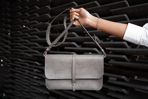 Clutch bag cross body strap