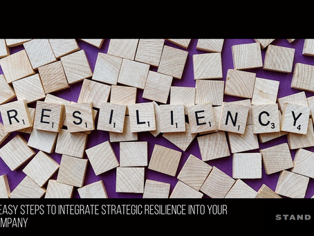 5 steps to create strategic resilience in your company