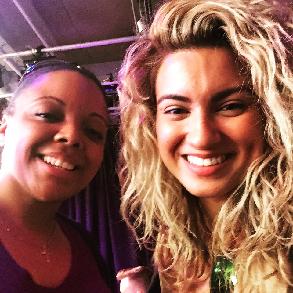 Krystle & Tori Kelly at the Much Music Video Awards