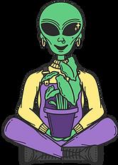 Queers to the Front Alien Character - De