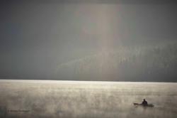 LR Stillness - kayaker