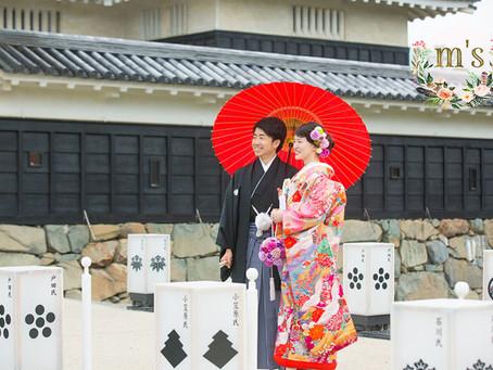 松本城&あがたの森での撮影
