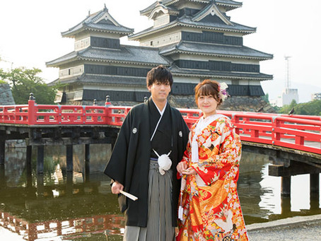 8月、松本での結婚写真前撮り