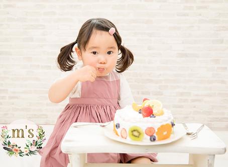 2歳のお誕生日