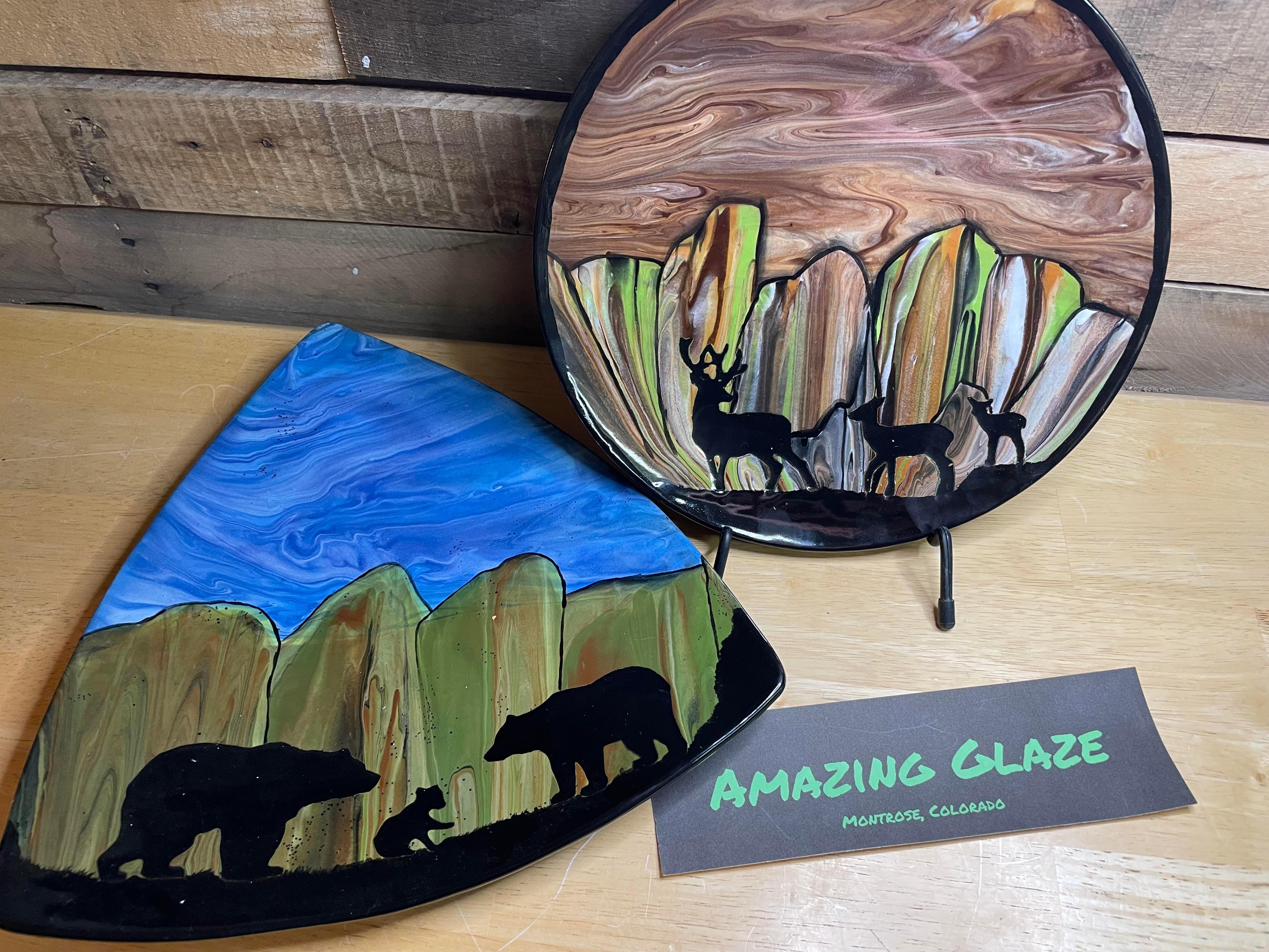 Summer Art Class - Ceramic Pour Art