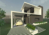 Casa moderna / Arquitectura moderna
