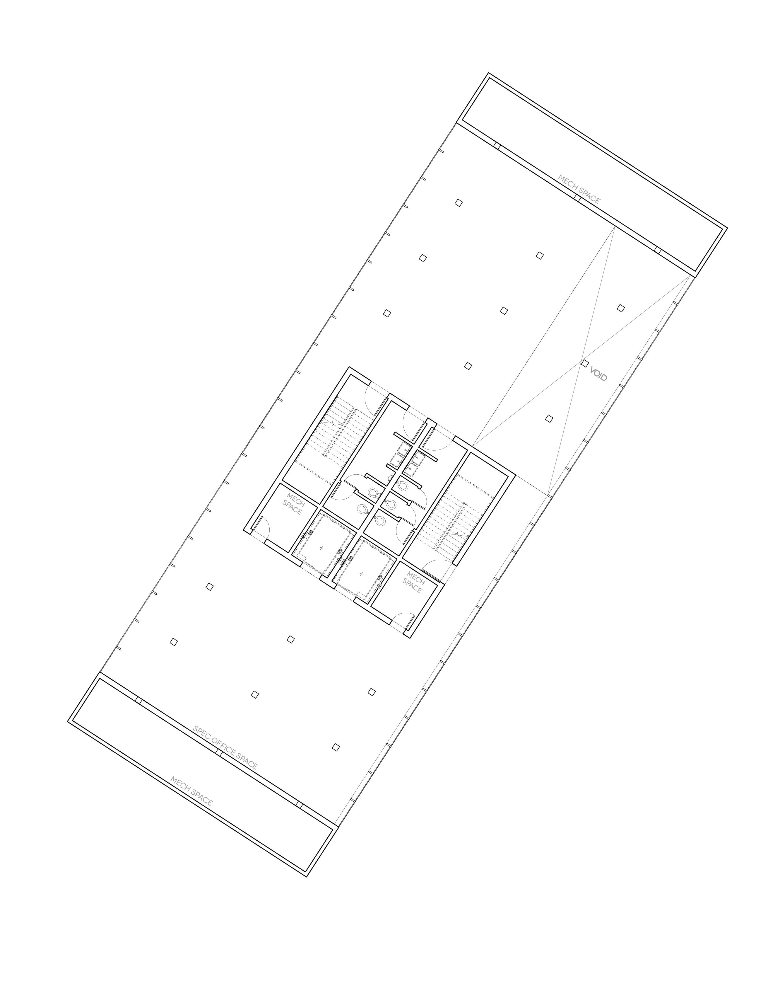 Speculative Office Floor Plate