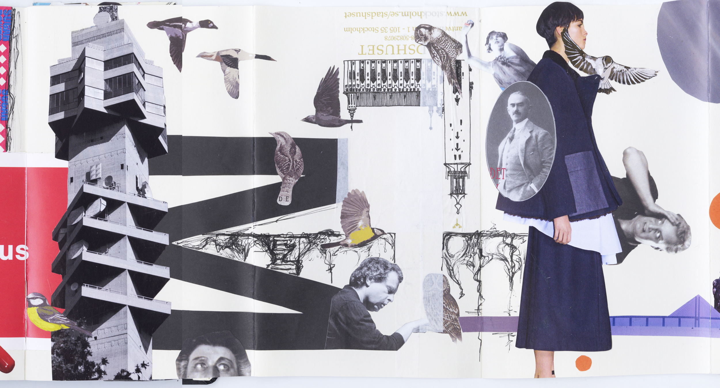 Continuous Collage Section D