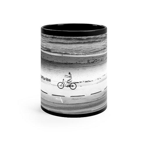 Black mug Biker 11oz
