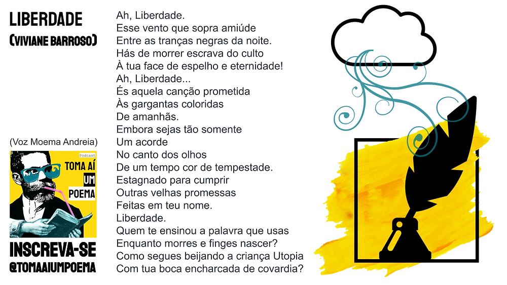 viviane barroso poema liberdade