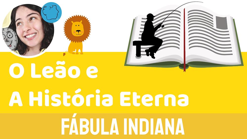 fabula infantil o leao e a historia eterna