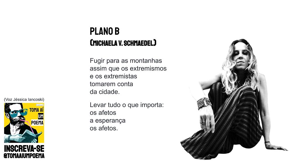 poema de michaela v. schmaedel plano b