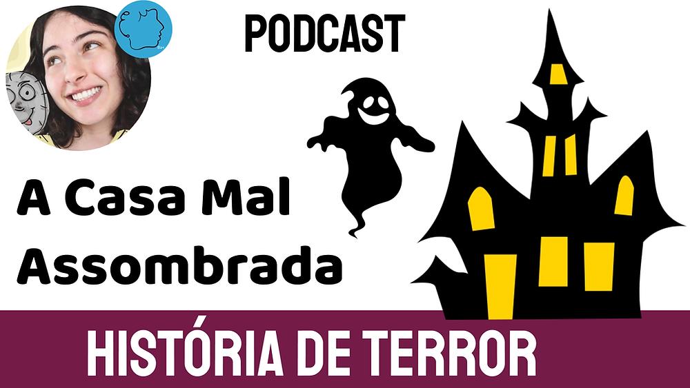 história infantil de terror casa mal assombrada