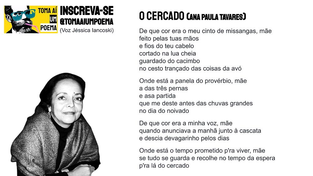 Ana paula tavares o cercado poesia angolana