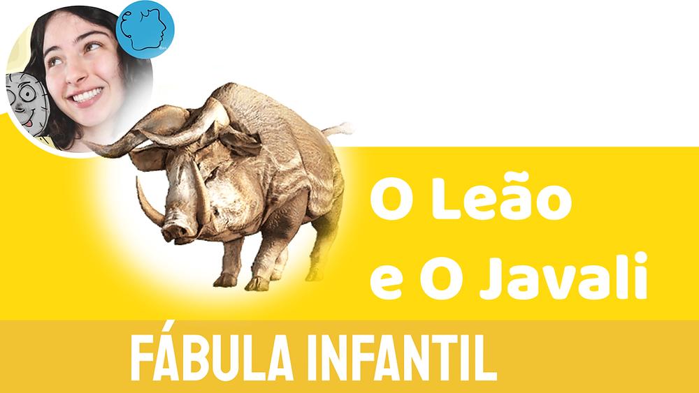 fábula de esopo o leão e o Javali