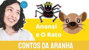 Anansi e O Rato - Jéssica Iancoski | Contos da Aranha