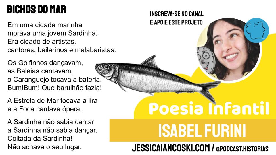 Isabel furini bichos do mar