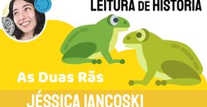 As Duas Rãs - Jéssica Iancoski   Fábula Indiana