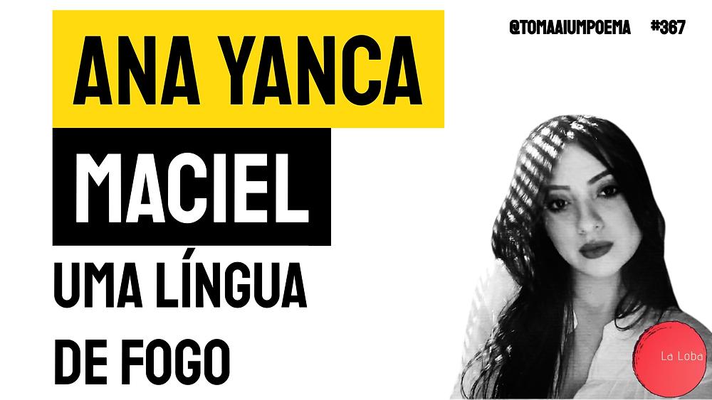 Ana Yanca maciel poesia contemporânea