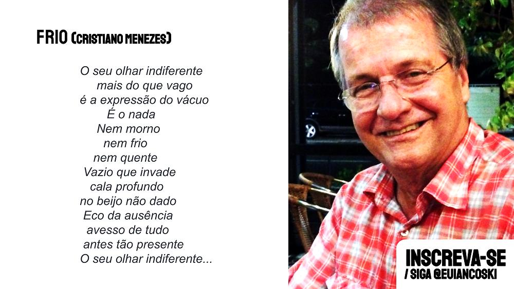 poesia brasileira cristiano menezes