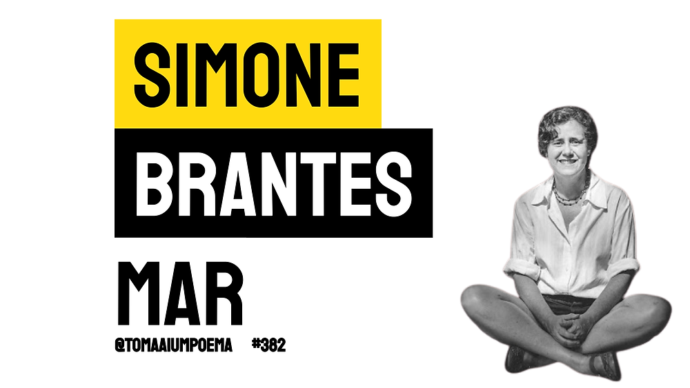 Simone Brantes poema mar