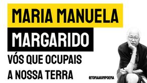 Maria Manuela Margarido - Poema Vós Que Ocupais A Nossa Terra | Poesia São-Tomense
