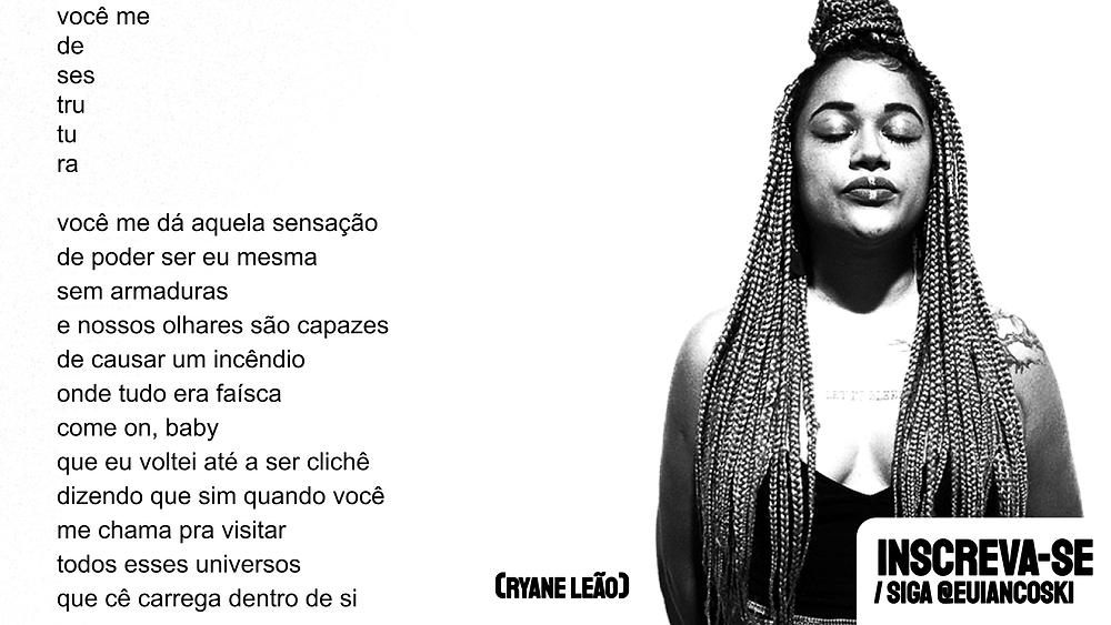 Ryane Leão poemas