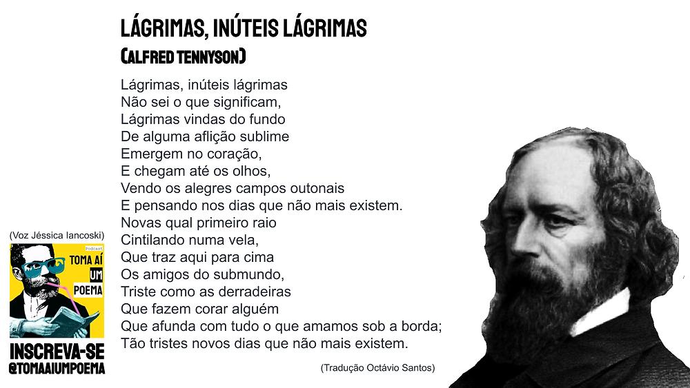 alfred tennyson poema lagrimas inuteis lagrimas