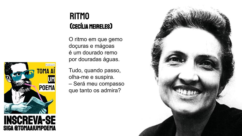 Ritmo Cecília Meireles Poema