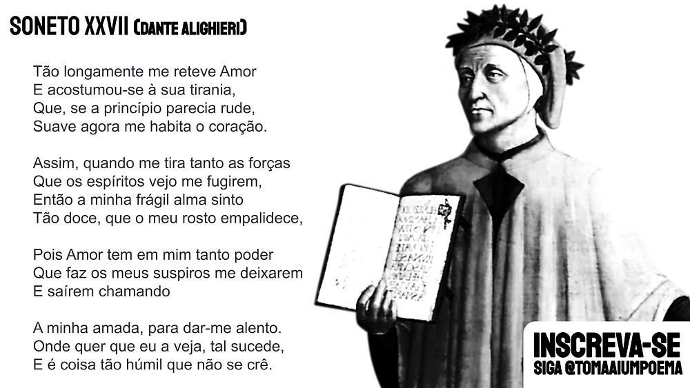 Poema Dante Alighieri poesia
